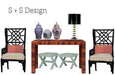 sadie + stella: Client Living Room Design