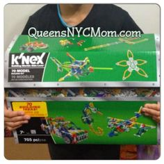 QueensNYCMom: Thankful for Giveaways Hop - K'nex USA 11/26 Win a K'nex Toy in the pic