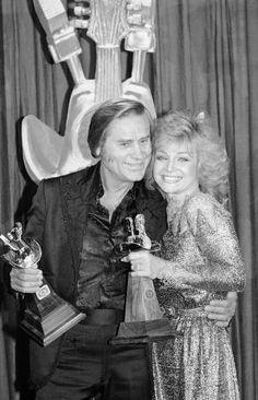 George Jones and Barbara Mandrel