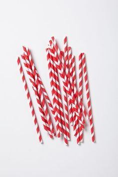 Paper Party Straws