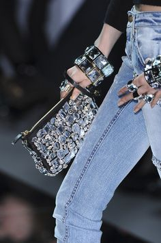 Bling and jeans!