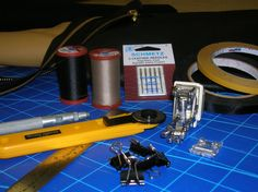 Tools & equipment for working with leather
