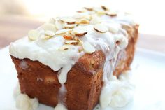 Island Delight Almond Cake