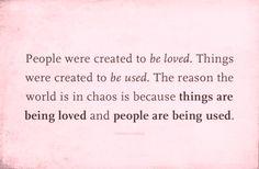Peoplevs things
