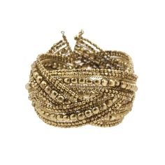 Dazzling cuff to dress up a tee or a dress. www.mooreaseal.com