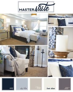Styling A Moroccan-Inspired Master Suite in the St. Jude Dream Home   #FrontDoor #Blog #Blue
