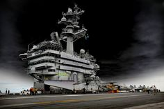 From my collection: taken in 2010 on the USS Carl Vinson.