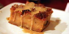 Norwegian Cruise Line Warm Bread Pudding with Caramel Sauce recipe