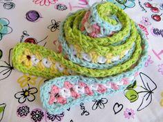 straps for a granny square bag pattern
