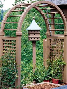 i WANT this arbor!