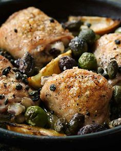Chicken with Olives & Capers