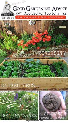 gardening basics, avoid regret, raised bed gardens, garden advic, garden 101