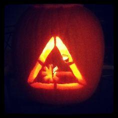 fan-made Nerdist pumpkin by Whitney Page #Halloween