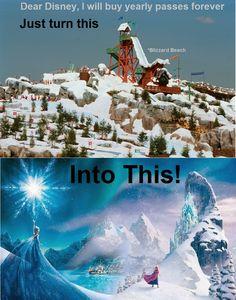 Frozen~Disney - Will you go?