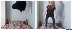 Mother/daughter portraits - great idea