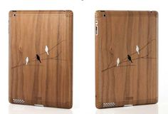Toast iPad cases -- custom made from 4 different types of wood. Beautiful!