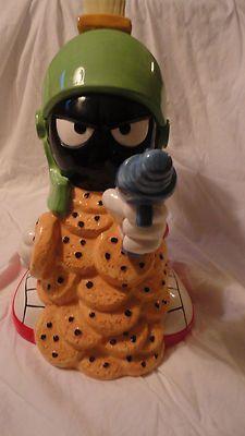 Warner Bros Marvin The Martian Cookie Jar 1995 Looney Tunes | eBay