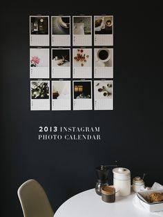 2013 Instagram Photo Calendar