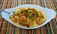 Down-Home Comforting Shrimp and Cheesy Grits