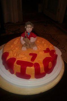 wreck it ralph cake!