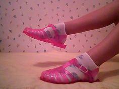 ۩ ۩ ۩   via Tumblr Jelli Shoe, 90S Shoes