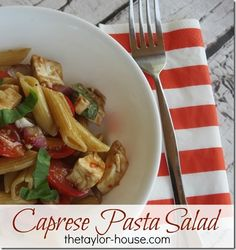 My Favorite Salad: Caprese Salad Recipe