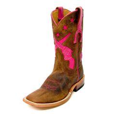 Anderson Bean Pink Guns Boots HP1039 $189.95