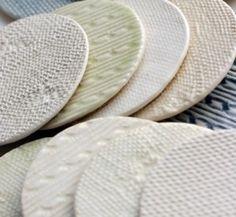 add texture to ceramics