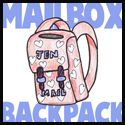 Valentine Day Backpack Cereal Box box idea, backpack cereal, cereal boxes, card box