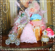 la pink paperie The blog for Paper Nosh: Marie Antoinette Doll What Else !!