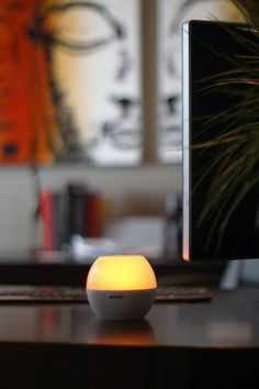 RoqLite WIRELESS SPEAKER AND LED LIGHT. Deep Bass, Flickering Light, and Vibrant Sound