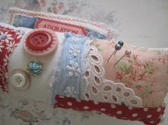 Crazy Quilted Pincushion