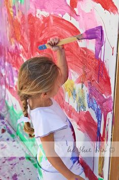 8 tips for doing big art with kids