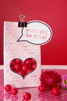 Valentine goodie bag printable
