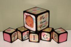 Birth Announcements Blocks and Sets - New Creation Blocks