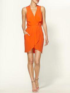 Maggie Silk Crepe Dress