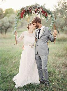 A beautiful rustic French wedding.