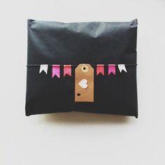 Washi Tape Mini bunting gift