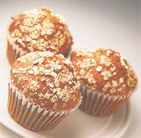 These Wholesome Oat Muffins are super easy to make!