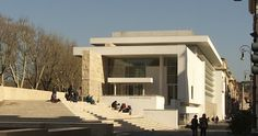 The Ara Pacis Museum in Rome's historic center was designed by Richard Meier.