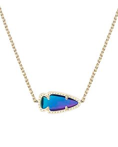 KS Skylie pendant in black iridescent