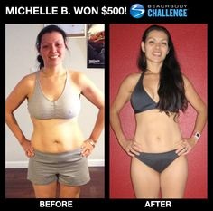 Michelle B. mother of 4 got fit with #INSANITY #ShaunT