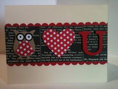 Stampin' in the Sun!: Owl Love You using the Owl Builder Punch