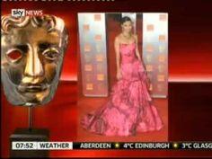 Caroline Castigliano Talks BAFTA fashion on Sky News