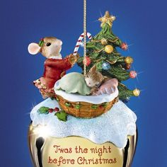 Charming Tails Mouse Christmas Ornaments