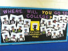 college bulletin board ideas