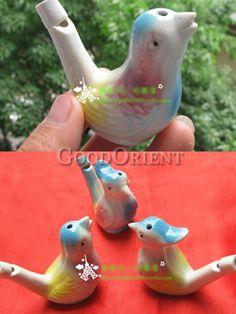 Ceramic bird whistle!