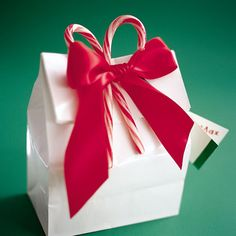 Bag It -- teacher christmas gift wrapping