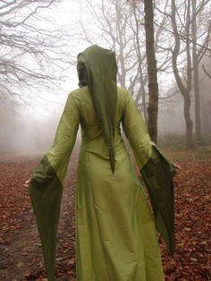 Gowns Pagan Wicca Witch:  Priestess Dress.