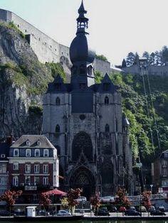 The Collegiate Church of Notre-Dame notredam, dinant, collegi church, churches, notr dame, visit, travel, franc, places